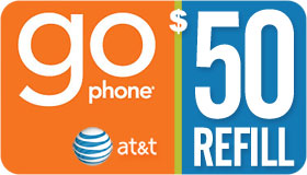 AT&T Go Phone Refill